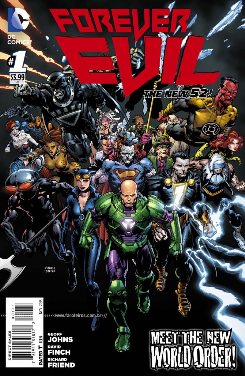 Preview de Forever Evil #1 - DC Comics - Blog Farofeiros