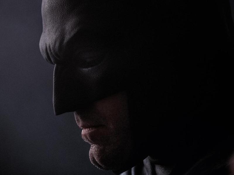 Nova imagem de Ben Affleck como Batman e ele continua triste - blog Farofeiros
