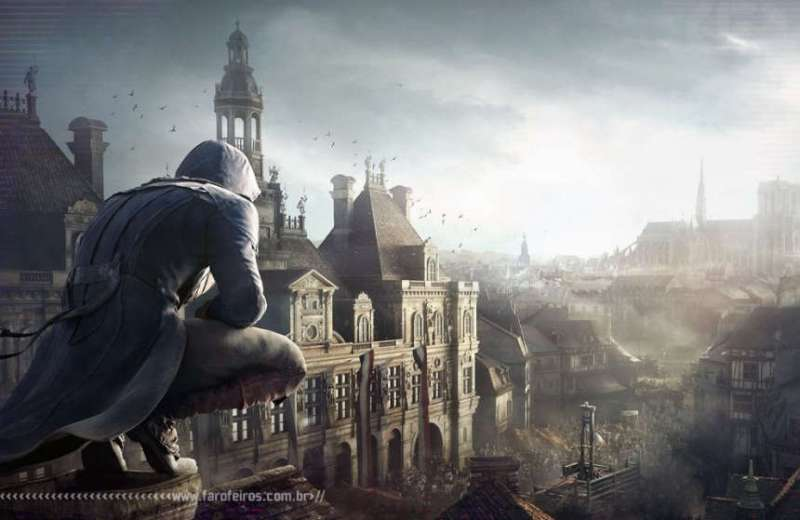 Assassins Creed - Unity - Games concorrerão a prêmio de Hollywood - Blog Farofeiros