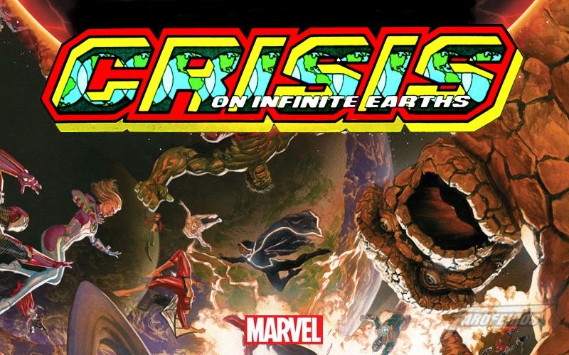 Guerras Secretas - o fim do Universo Marvel - CRISIS - Blog Farofeiros