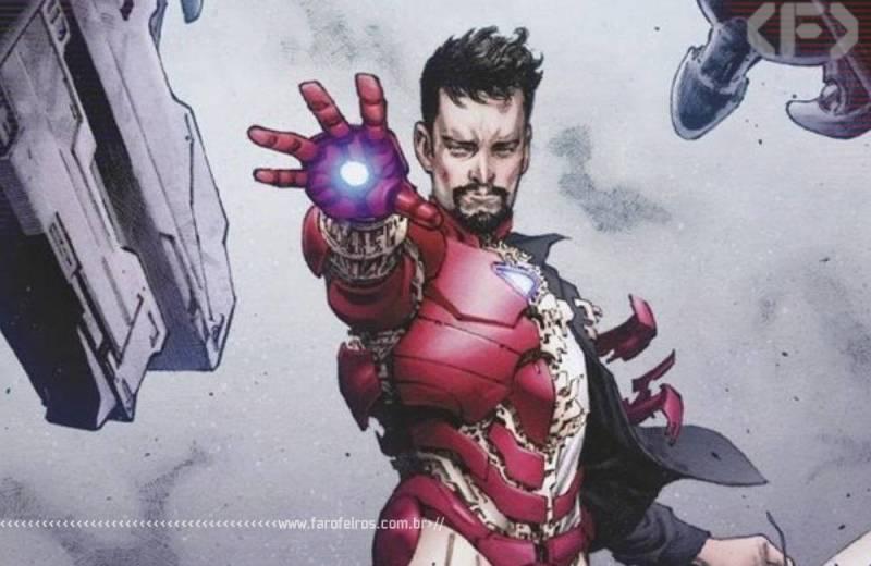 Tony Stark - Homem de Ferro - Razão e fé - Blog Farofeiros