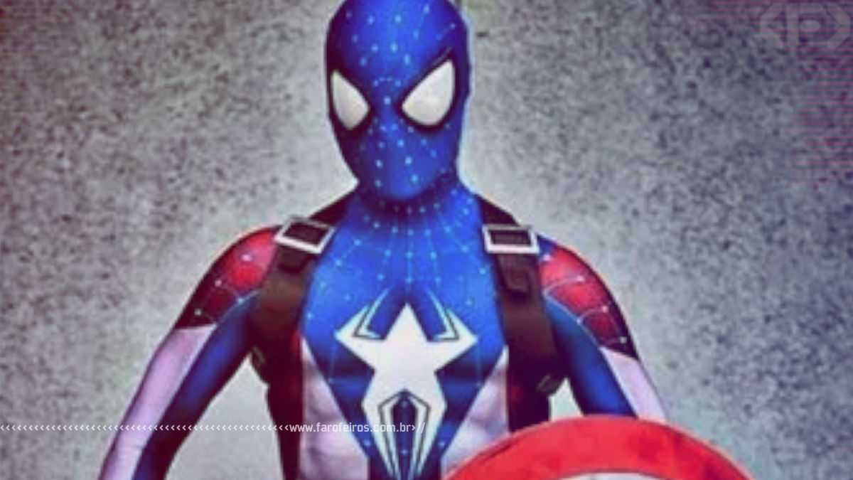 Capitão América + Homem Aranha - Blog Farofeiros