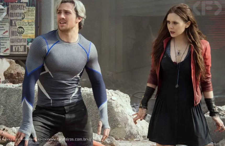 Vingadores - Era de Ultron - Marvel Studios - Wanda e Pietro - Blog Farofeiros