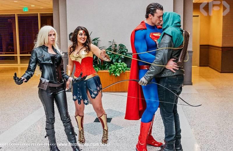 O final mais apropriado para Arrow - Superman - Mulher Maravilha - Cosplay - Blog Farofeiros