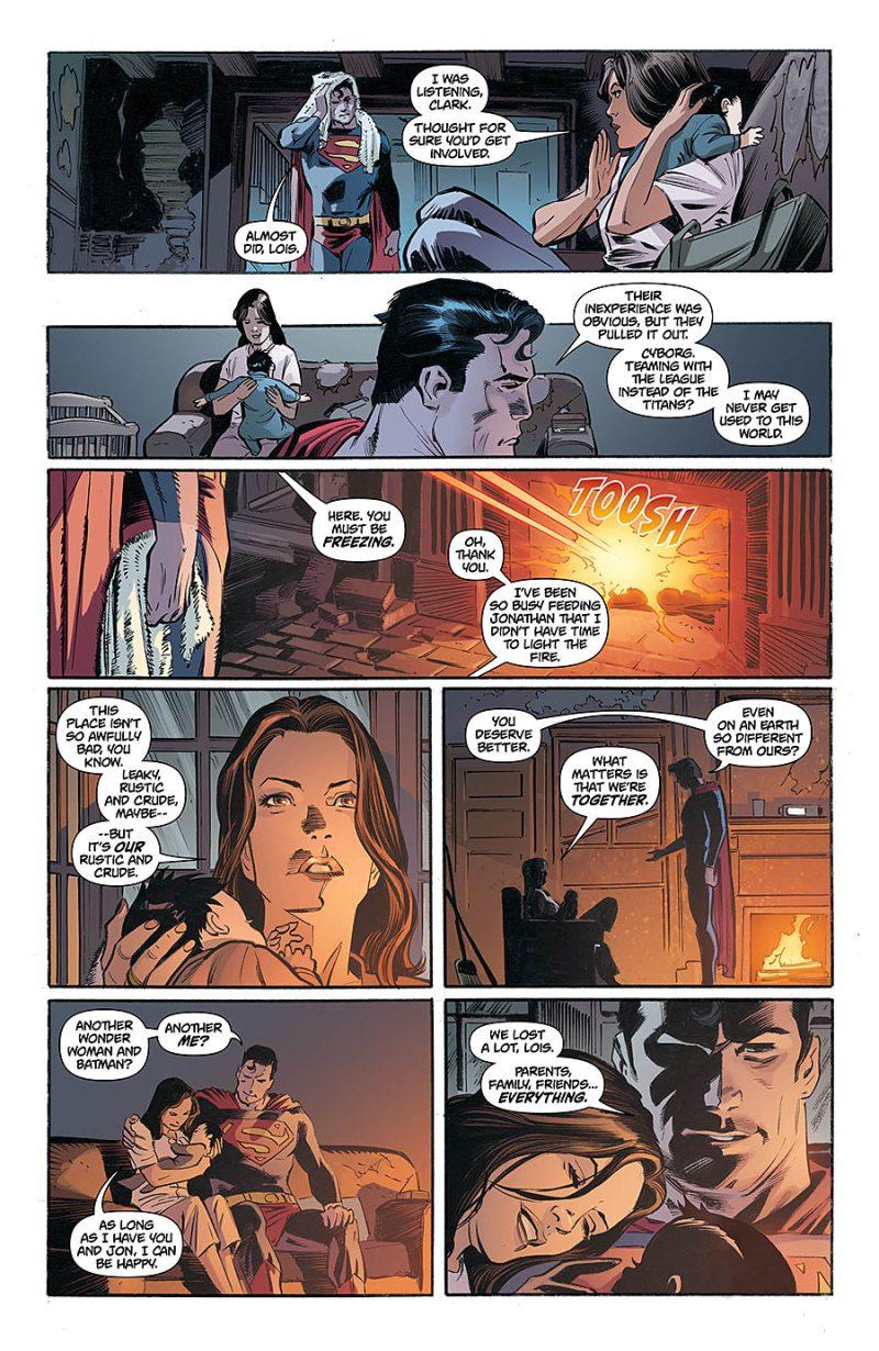 Antigo Superman reaparece em Novos 52 - Blog Farofeiros