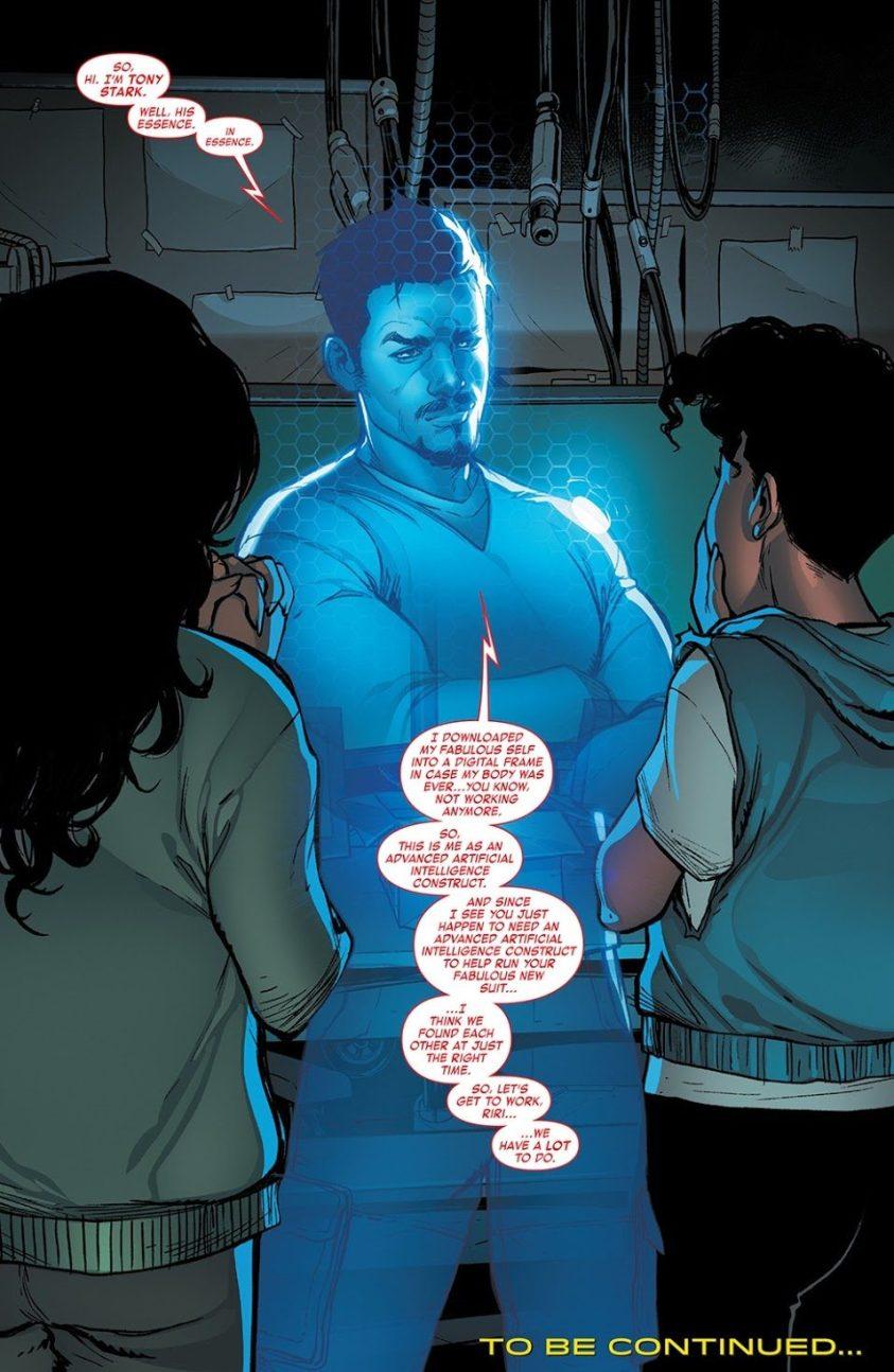 Morte de Tony Stark - Homem de Ferro - Iron Man #1