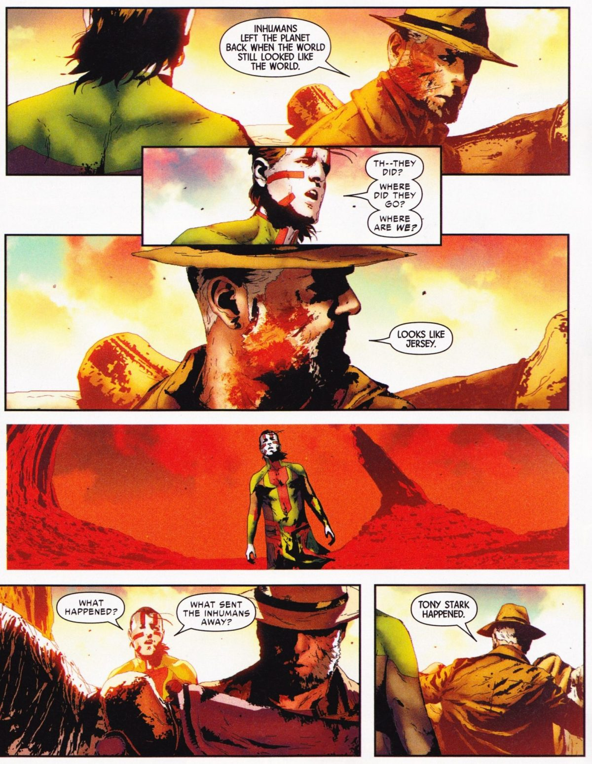 O Velho Logan e Ulisses - Guerra Civil II: Tony Stark está morto?