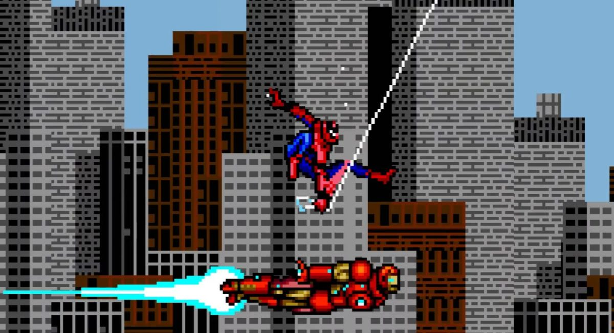 Homem Aranha 8 bits