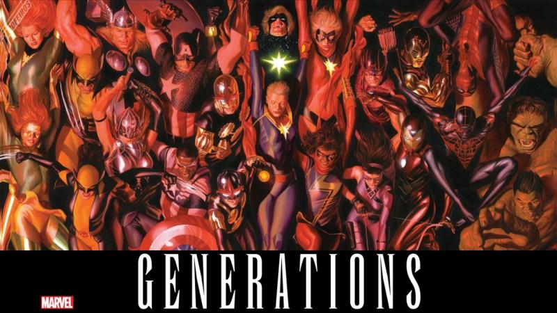 Gerações Marvel - Blog Farofeiros - Alex Ross
