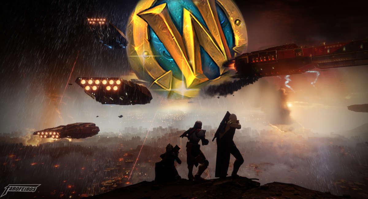 Compre Destiny 2 com a Ficha de WoW