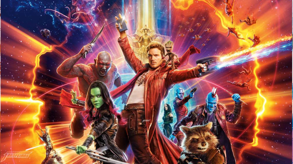 Guardiões da Galáxia Vol 2 - filmão da porra - Redenção de James Gunn - FAROFEIROS COM BR