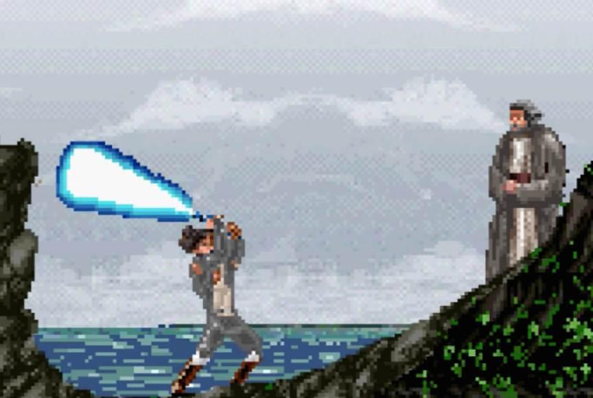 Trailer Star Wars Os Últimos Jedi em 8 bits