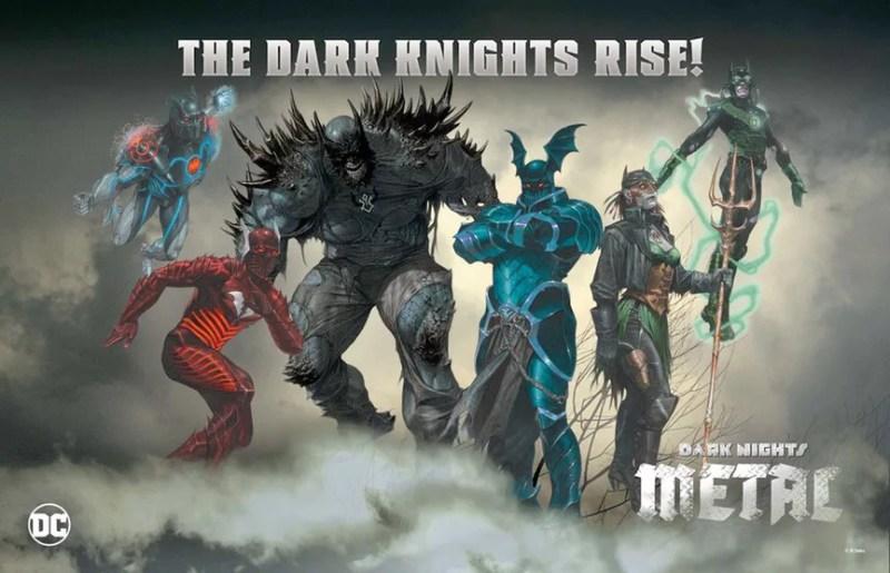 O Melhor da DC na SDCC 2017 - A Ascensão dos Cavaleiros das Trevas