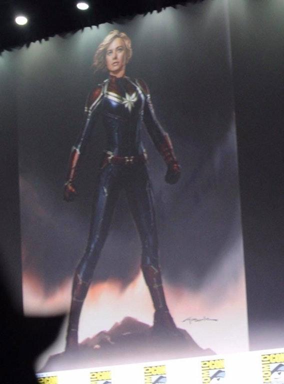 O Melhor da Marvel na SDCC 2017 - Arte conceitual - Capitã Marvel