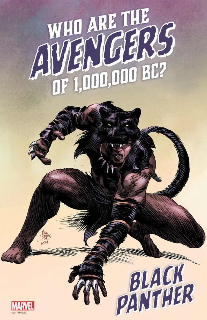 Quem são os Vingadores de 1.000.000 a.C.? - Se tem Pantera Negra temos Wakanda e sua família real.