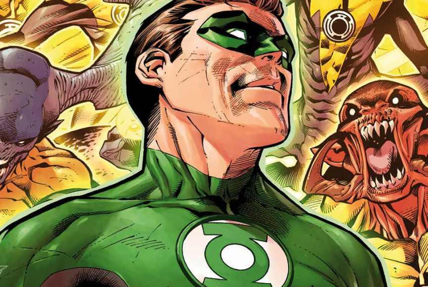 Noites Sombrias - Metal - Hal Jordan sem braço