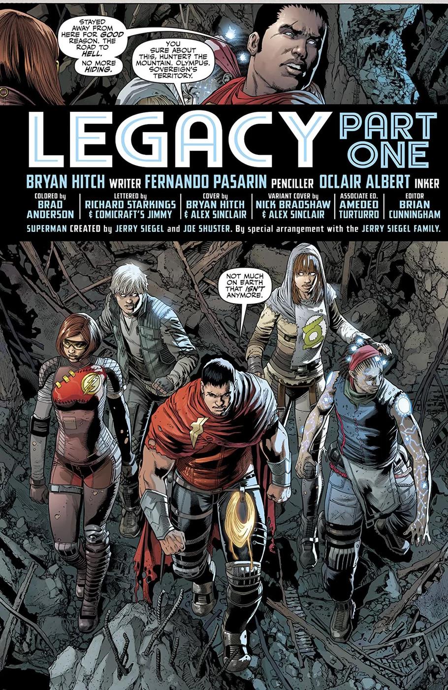 Os filhos da Liga da Justiça - Preview de Justice League #26
