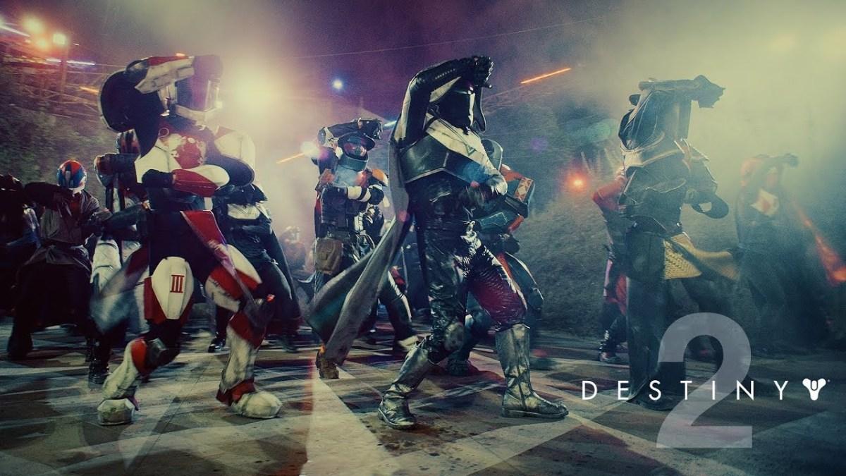 Todo mundo está dançando em Destiny 2