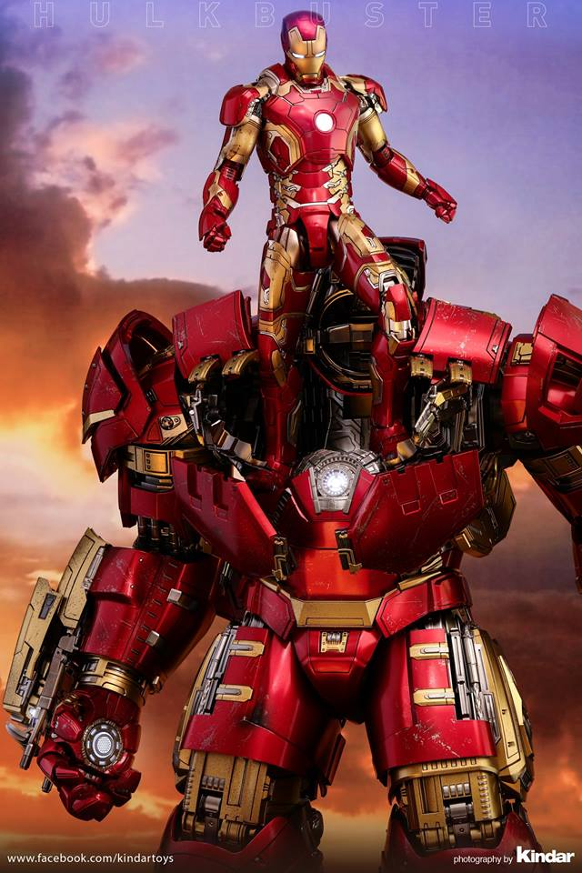 Versão final do Hulkbuster da Hot Toys - Vingadores - Era de Ultron - Blog Farofeiros