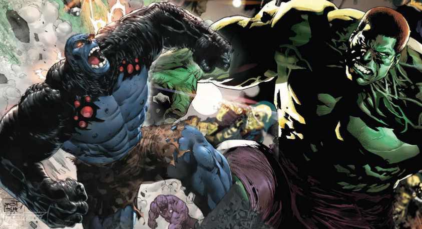 O Multiverso Sombrio da DC é a Marvel - Damage - Hulk