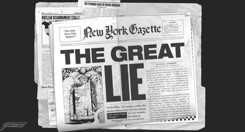 A confusão começou em Relógio do Apocalipse - Doomsday Clock #1