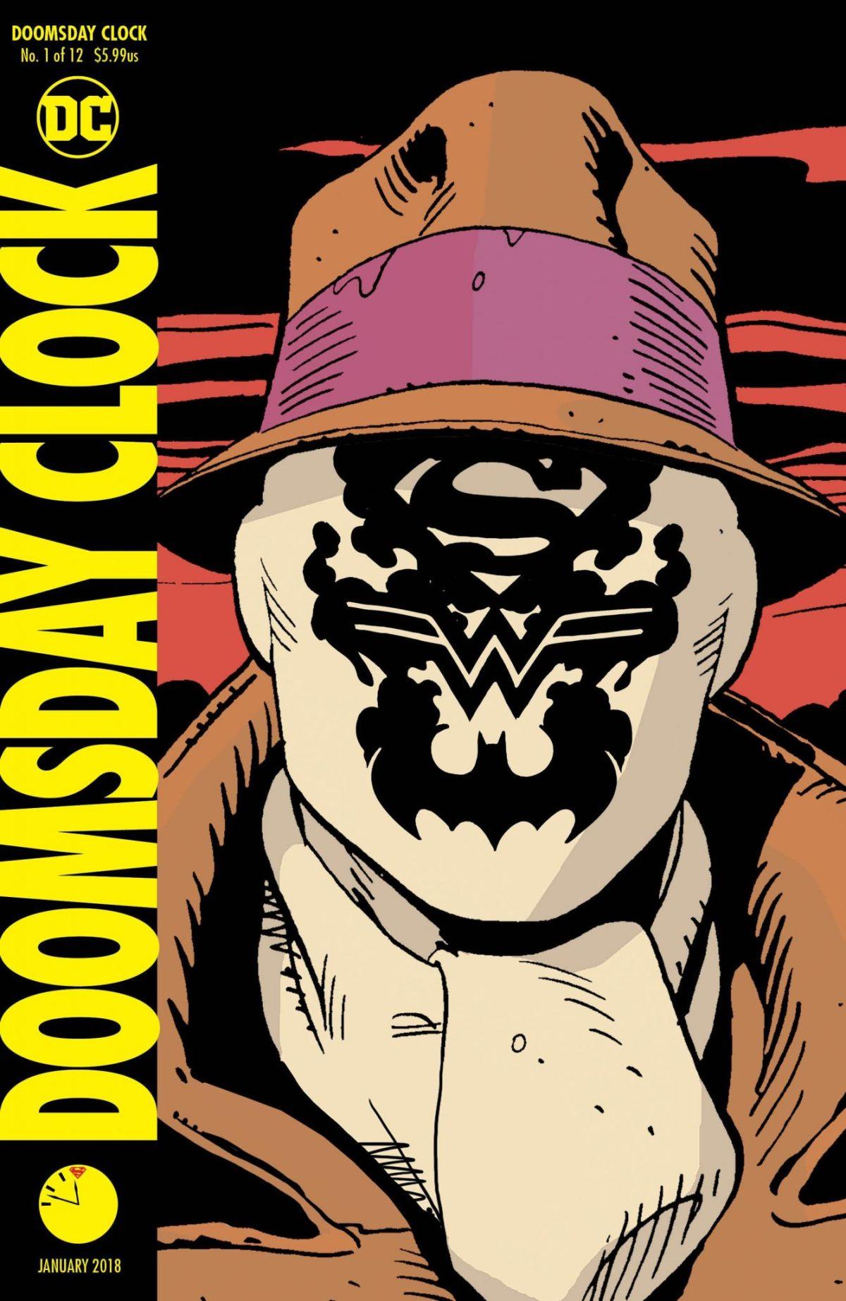 PREVIEW - DOOMSDAY CLOCK #1 - Rorschach não morreu? - Watchmen - O Relógio do Juízo Final