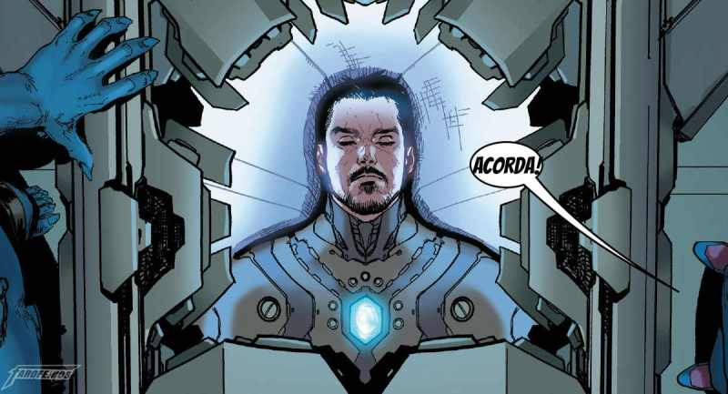 Roubaram o corpo do Tony Stark