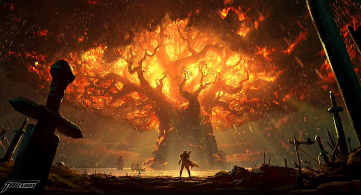World of Warcraft na Blizzcon 2017 - Aumento nos preços de World of Warcraft - Battle for Azeroth -Teldrassil antes de pegar fogo