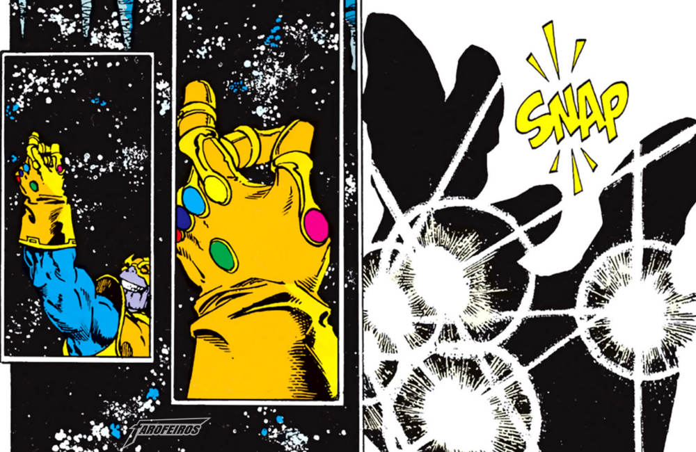 Quem morre em Guerra Infinita - Thanos - Snap