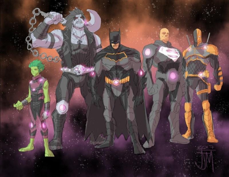 Liga da Justiça - Sem Justiça - Entropy Team - Equipe Entropia