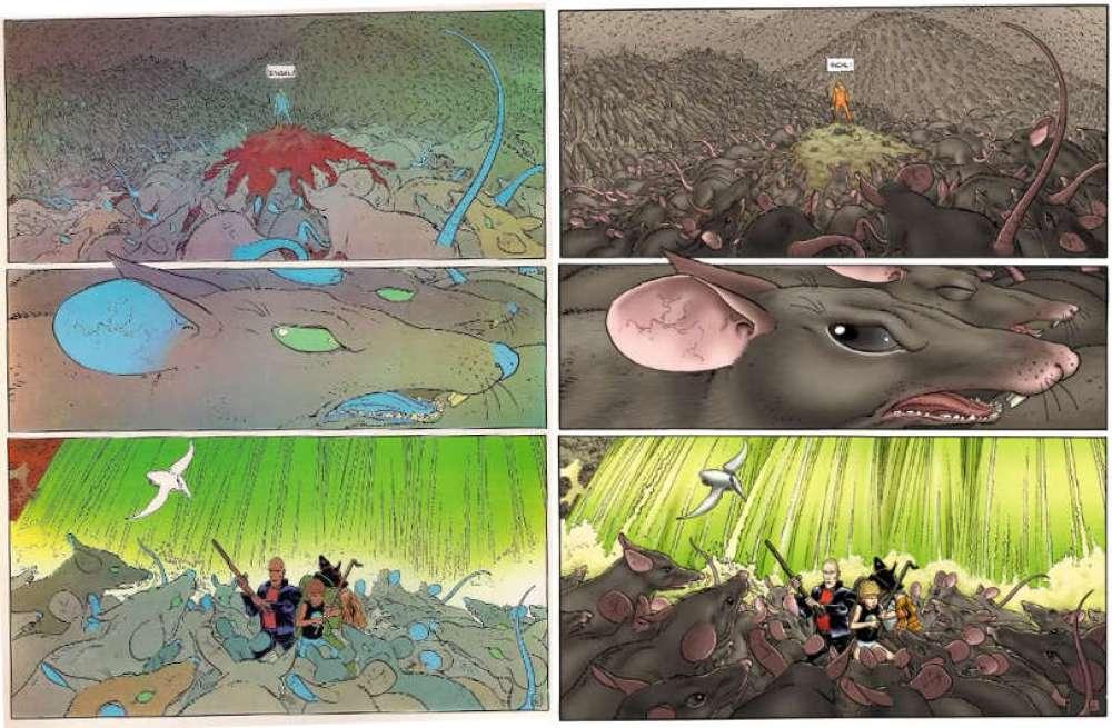 Quadrinhos clássicos devem ser recoloridos - Incal - Moebius