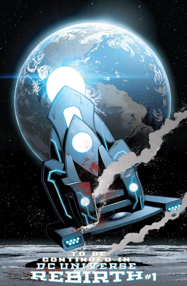 Quem poderia ser o Dr Manhattan disfarçado no Universo DC - Renascimento - Metron morto
