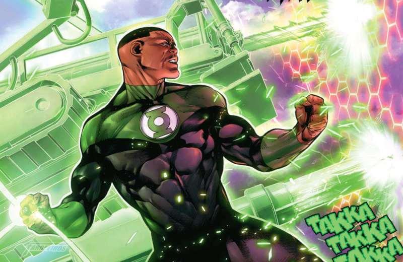 Super heróis politizados - Jon Stewart - Lanterna Verde