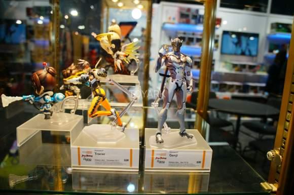 Toy Fair 2018 - Good Smile Company - Figma - Overwatch - Tracer - Genji