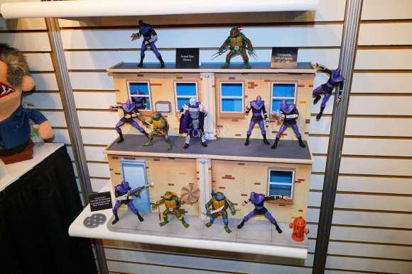 Toy Fair 2018 - NECA - Tartarugas Ninja