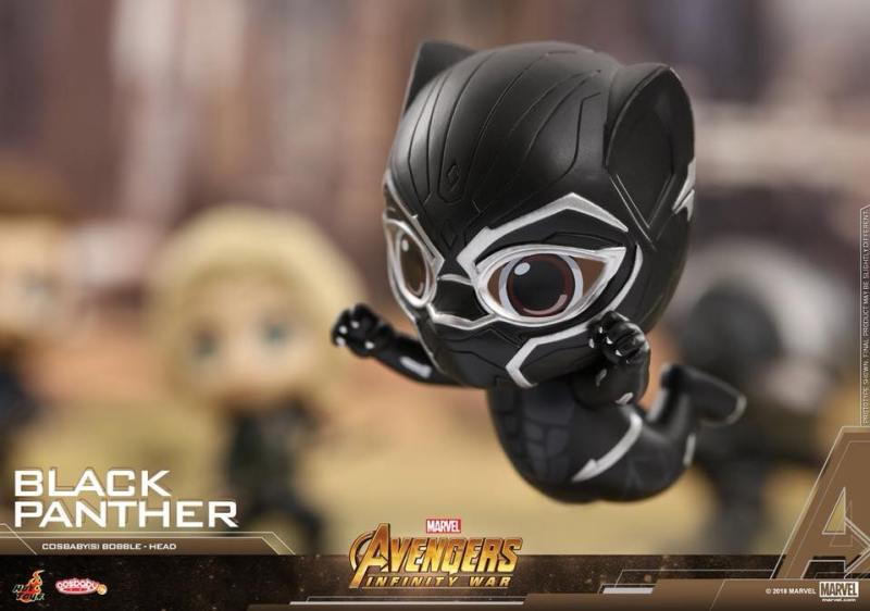 Cosbabys de Guerra Infinita - Pantera Negra