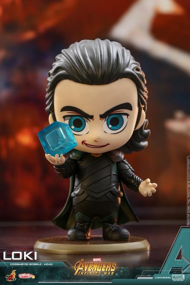 Cosbabys de Guerra Infinita - Loki