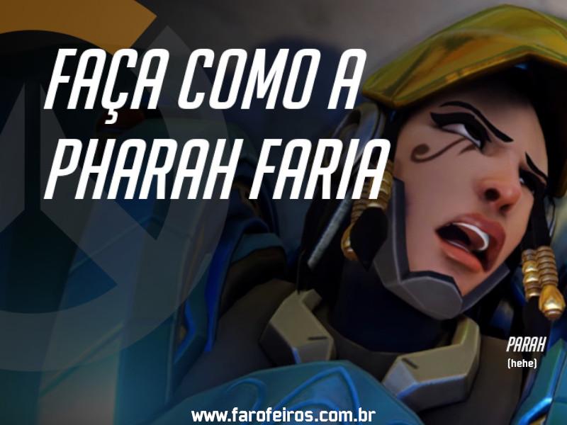 Pharah - DES Motivação de Overwatch - Blog Farofeiros