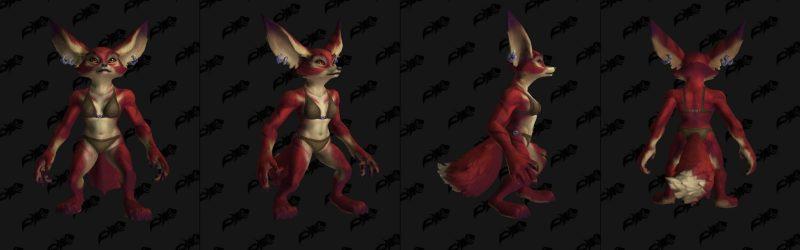 Raposas como raças aliadas em World of Warcraft