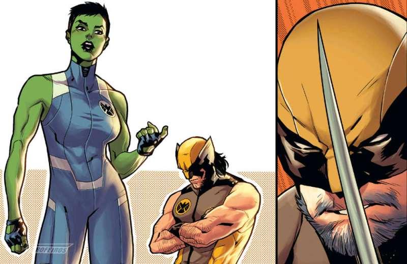 Tem início a busca pelo Quarteto Fantástico - Mulher Hulk e Wolverine