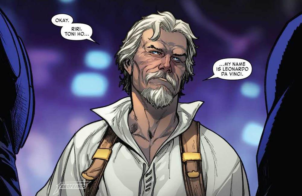Iron Man #600 - Homem de Ferro - Leonardo Da Vinci