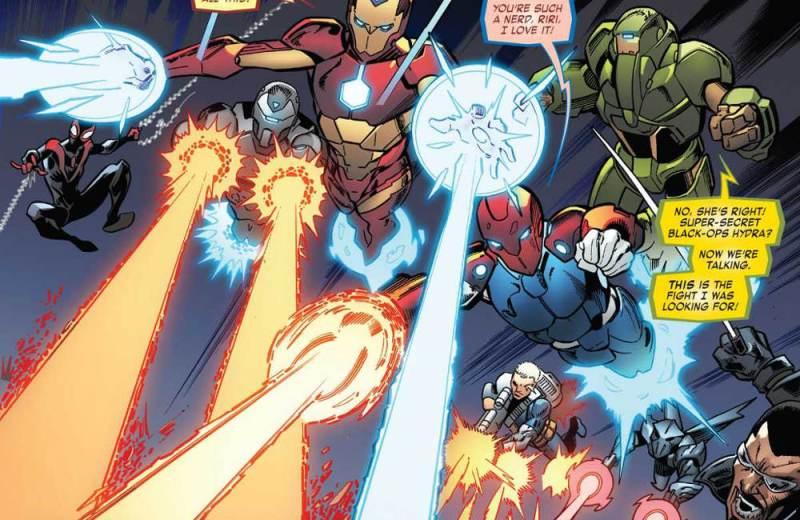 Iron Man #600 - Homem de Ferro - SHIELD