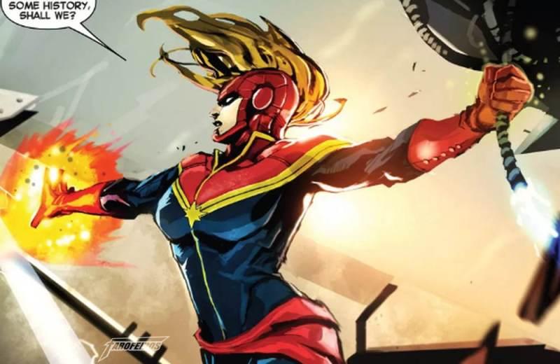 Quem é a Capitã Marvel - Blog Farofeiros