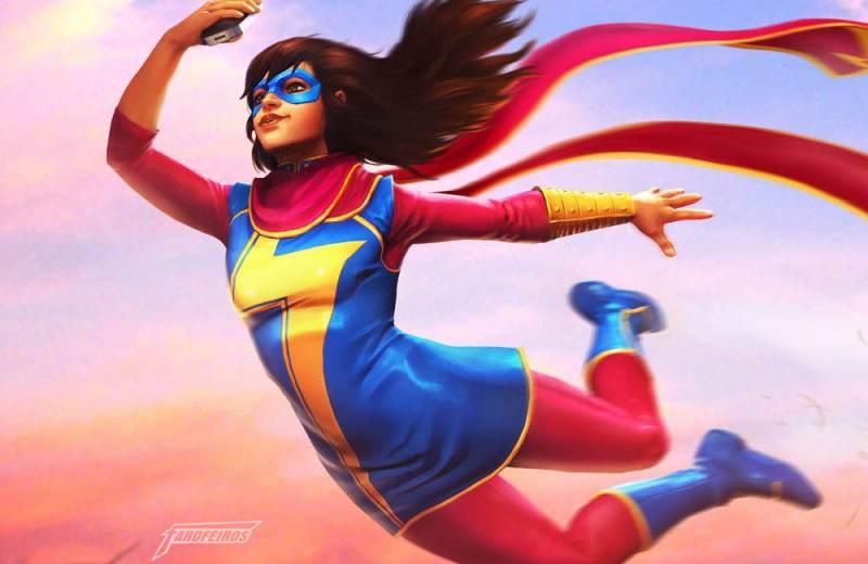Quem é a Capitã Marvel - Kamala Khan - Miss Marvel - Marvel culpa diversidade pela baixa venda de quadrinhos - Blog Farofeiros