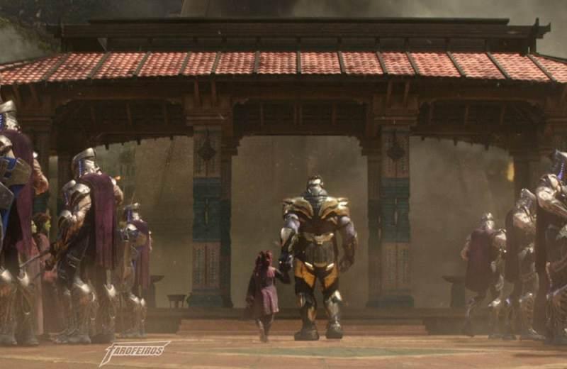 Review de Vingadores Guerra Infinita COM SPOILERS - Gamora - Thanos