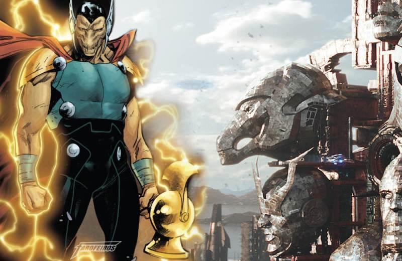 Rompe Tormenta o novo martelo de Thor em Guerra Infinita - Bill Raio Beta - Blog Farofeiros