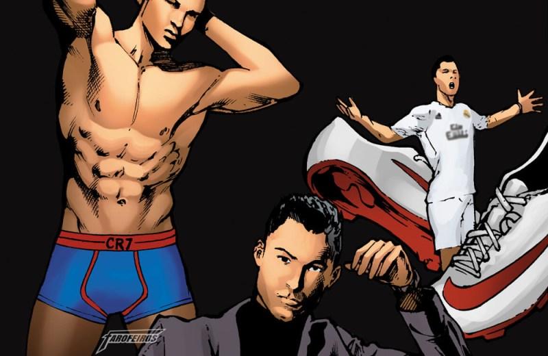 Quadrinhos da Copa pela Marvel Comics - 02 - Cristiano Ronaldo