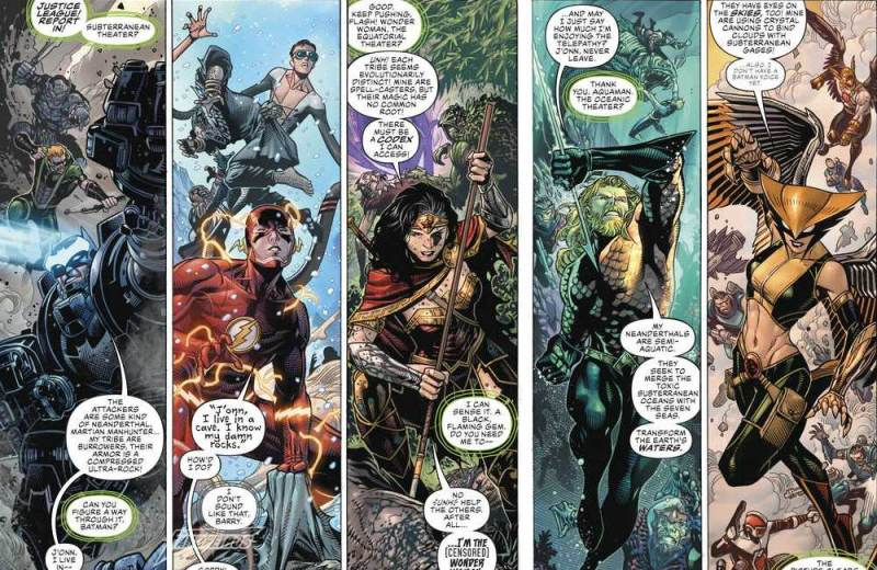 Review de Justice League #1 - Liga da Justiça - Arte de Jim Cheung