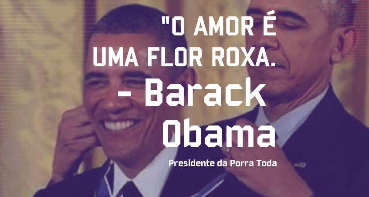 Barack Obama - Pensamento - Blog Farofeiros