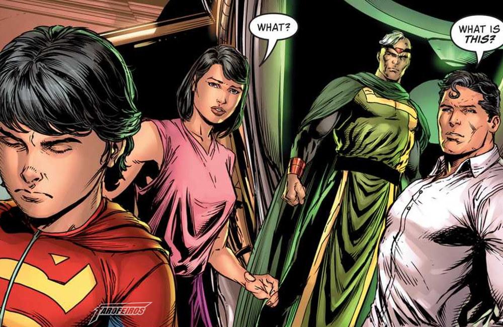 Não gostei do Superman do Bendis - Jon - Lois Lane - Clark Kent - Jor El